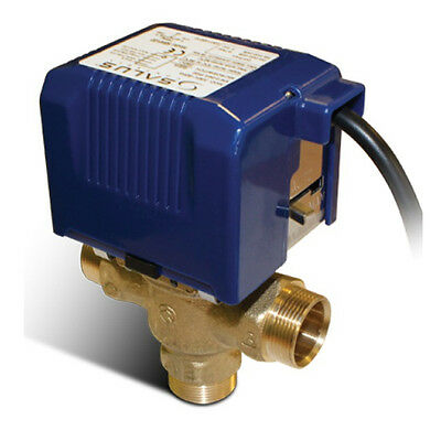 Salus 3 Port SBMV38 Motorised 28mm Valve for Central Heating & Hot Water Systems