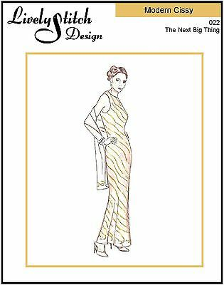 """sewing pattern for 21/"""" Modern Cissy doll by Madame Alexander Classic 40/'s"""