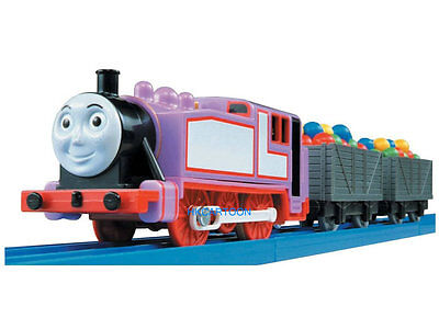 2015 New Takara Tomy Thomas Motorized Ts-12 Rosie W/ 2 Trucks 462668