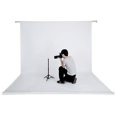 Neewer 53 Inch x 12 Yard/1.36 M x 11M Studio White Backdrop Background Paper