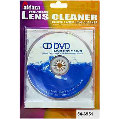 how to clean the lens on my cd player