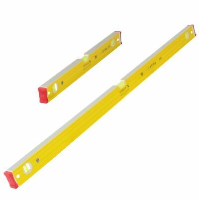 "Stabila 96-2 Ribbed Box Section Spirit Level Set 24/48"" 60/120cm 16333"