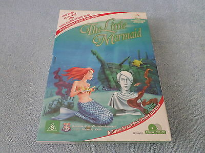 Little Angel Fairytales - The Little Mermaid - Nip - Cd & Dvd & Lyrics