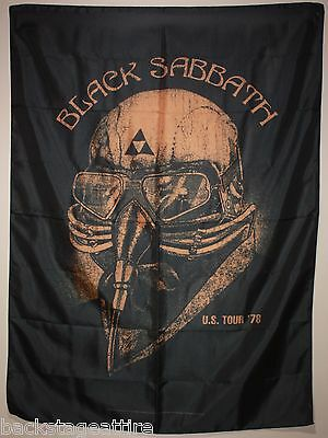 Black Sabbath Ozzy Never Say Die! Tour 78 Cloth Poster Flag Fabric Tapestry-New!