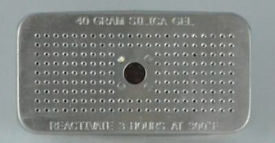 40 Gram Aluminum Canister of Silica Gel - Protects 3 Cubic Feet Of Space