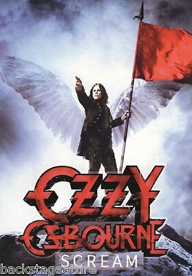 Ozzy Osbourne Scream Black Sabbath Cloth Poster Flag Fabric Tapestry Banner-New!