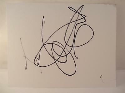 """Genuine Tamzin Outhwaite (Eastenders)  Hand Signed 5.5"""" By 4"""" Card-Uacc Member**"""