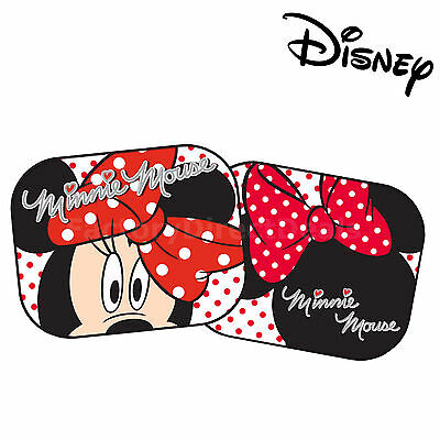 Disney Minnie Mouse D Kids Baby Girl Children Car Window Sunshades UV Protection