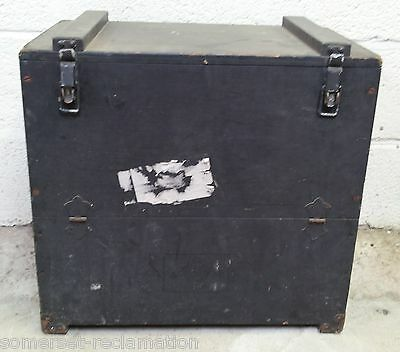Reclaimed Strong Ammunition Style Storage Box 56 x 51 x 34.5cm
