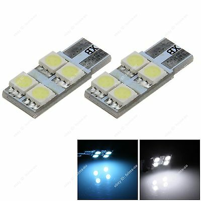 Super T10 5050 LED 4SMD Non-polarity Bulb for Car Wedge Tail Bright Light Nice