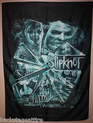 "Slipknot Broken Glass 29""X43"" (75cmX110cm) Cloth Fabric Poster Flag Tapestry-New"