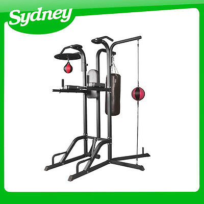 *** NSW PICKUP*** Power Boxing Station Stand Gym Speed Ball Punching Bag Station