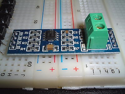 MAX485   RS-485 Module converter For Arduino ,DMX  ,breadboard UK stock