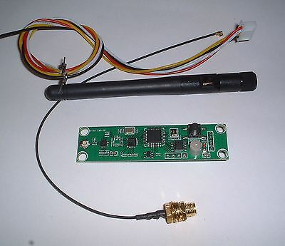 2.4G  wireless dmx512  / transmitter /receiver PCB +antenna+cables UK Stock