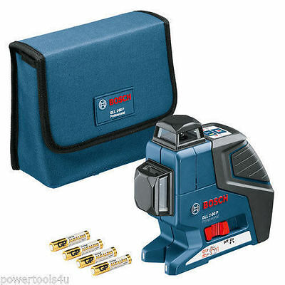 Bosch GLL2-80P 360 Degree Vertical and Horizontal Line Laser 0601063200 GLL 2-80