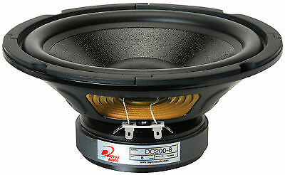 "Dayton Audio DC200-8 8"" Classic Woofer"