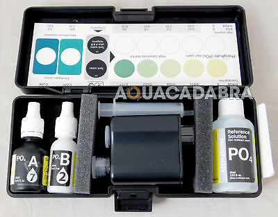 D-D Phosphate Test Kit H2Ocean High Sensitivity Marine Fish Aquarium Reef Algae