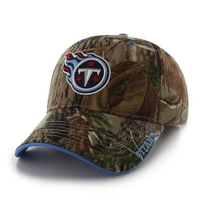 meet ce706 fe284 Tennessee Titans 47 Brand Clean Up Hat Adjustable Cap RealTree Frost