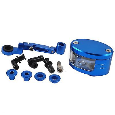 Neuf Bleu Moto Cylindre de Frein Levier Embrayage Clutch Huile Hydraulique Coupe