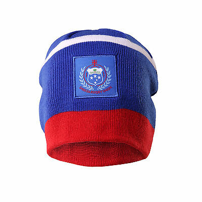 Samoa Rugby Union BLK 2015 Players Pro BLK Beanie! BNWT's!