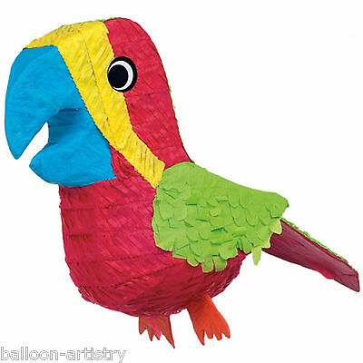 38cm Wild Jungle Bird PARROT Zoo Animal BASH Pinata Party Game Decoration