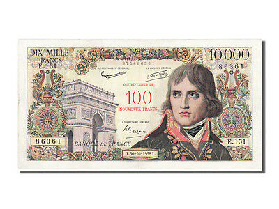 Billets, 100 NF / 10 000 Francs Bonaparte type 1955 #12379