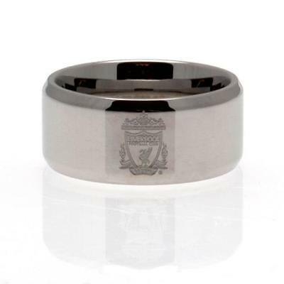 Official Licensed Football Club Liverpool Band Ring Large Stainless Steel New