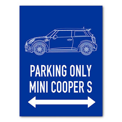 PARKING ONLY - Mini Cooper Coupe S (ab 2014) 11466