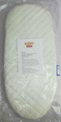 Deluxe Quilted Pram Mattress Fits New Style Silver Cross Wayfarer & Pioneer