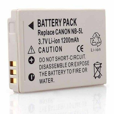Neewer Replacement NB-5L Li-ion battery for Canon PowerShot IXUS800 IS SD790