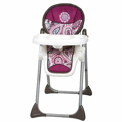 Baby Trend Sit Right High Chair, Paisley tHigh Chair Toddler Chair Booster