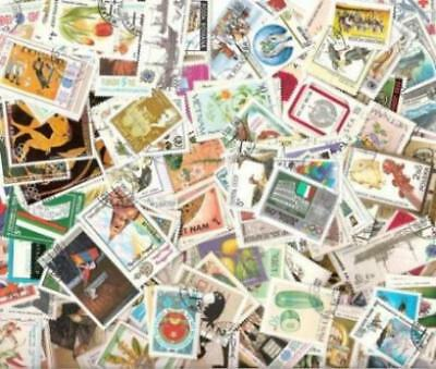Worldwide Collection - 1000 Different Large Pictorial & Topical Stamps