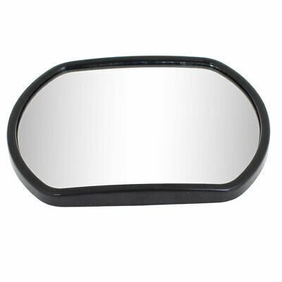 Black Rectangle Adhesive Wide Angle Convex Rear View Blind Spot Mirror for Truck