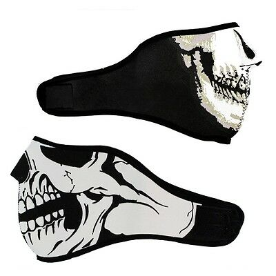 Popular Half Skull Face Skeleton Graphic Style Seal Mask Cool CS Ghost Game Mask