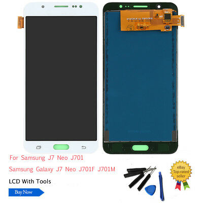 LCD Display Screen Touch Digitizer Replace For Samsung Galaxy J7 Neo J701M J701F