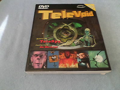 Dvd Rom - Tele Void - Music By Telespy - Big Box - Play It On Pc Or Pc/tv