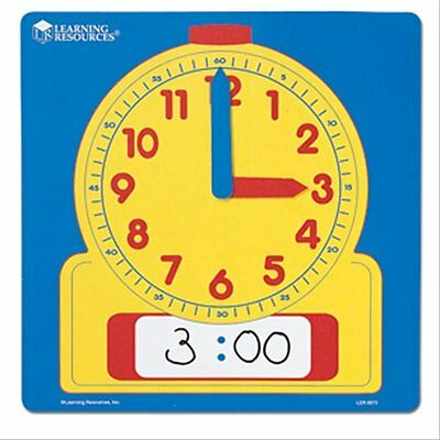 1 Write & Wipe Tell/Teach The Time Clock Maths Home Education/schooling Resource