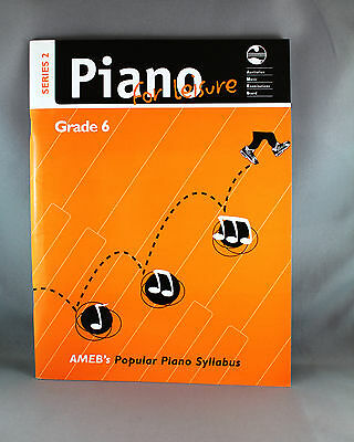 AMEB Piano for Leisure Series 2 Grade 6 - Brand New