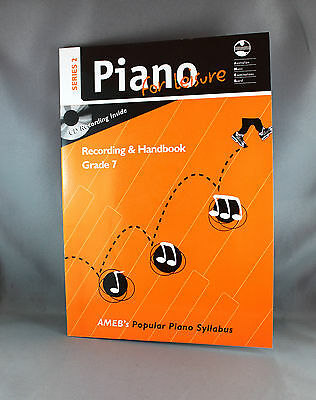 AMEB Piano for Leisure Series 2 Recording & Handbook Grade 7 - Brand New