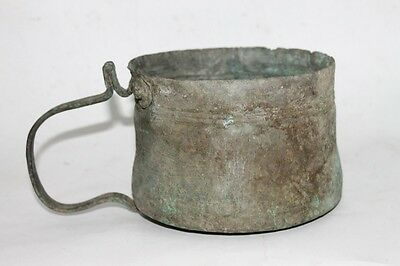 Antique Ottoman Fireplace Copper Kettle 1700's