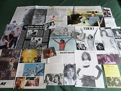 Roger Daltrey -  Rock Celebrity  - Clippings /cuttings Pack