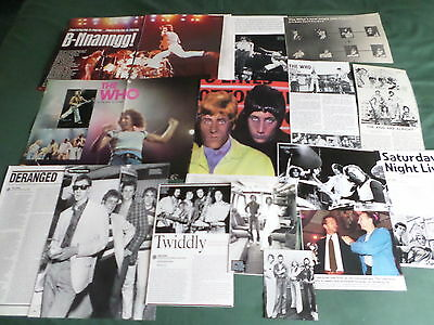 The Who - Rock Band - Clippings /cuttings Pack