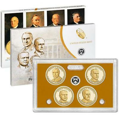 2014 S Presidential Dollar Proof 4 Coin Set United States Mint (PE4)