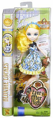 Ever After High Bambola BLONDIE LOCKES 30cm PICNIC INCANTATO by Mattel CLD86