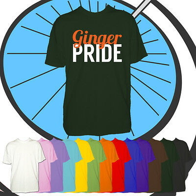 Kids Ginger Pride Tshirt - Support Red Heads Boys & Girls T Shirt Festival March