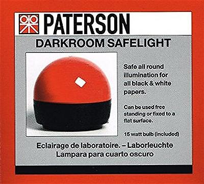 Paterson Photographic Darkroom Safelight :  PTP 760 : For Kodak & Ilford Paper