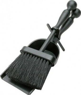 Manor Reproductions Duchess Hearth Tidy - Black - 300mm