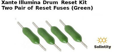 Drum imaging (4) reset chips fuses for  Xante Ilumina Digital Press 427