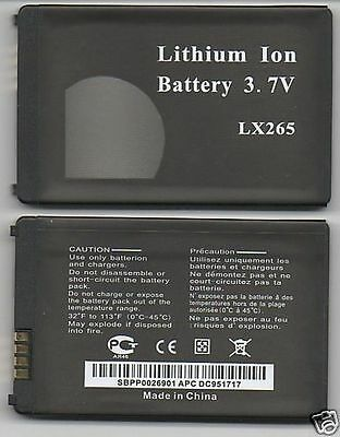 Lot 25 New Battery For Lg Lx265 Ux265 Ax265 Ux485 Gr500