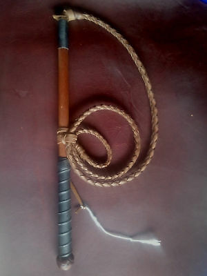 2X4ft Cow hide stock whip Stockwhip